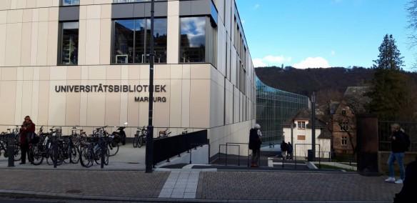UB Marburg, 2018 eröffnet