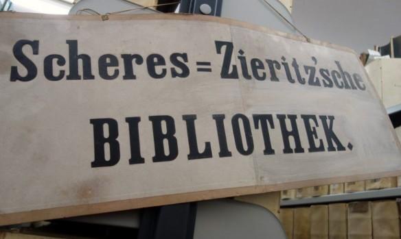 Scheres-Zieritzsche Bibliothek, eine Sondersammlung in der Landesbibliothek Coburg