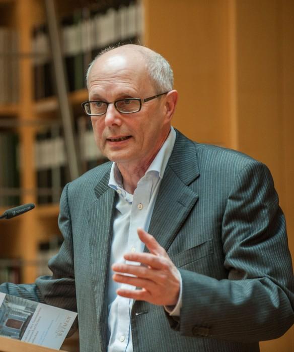 Michael Knoche redet. Foto: Schuck © Klassik Stiftung Weimar (1,37 MB)