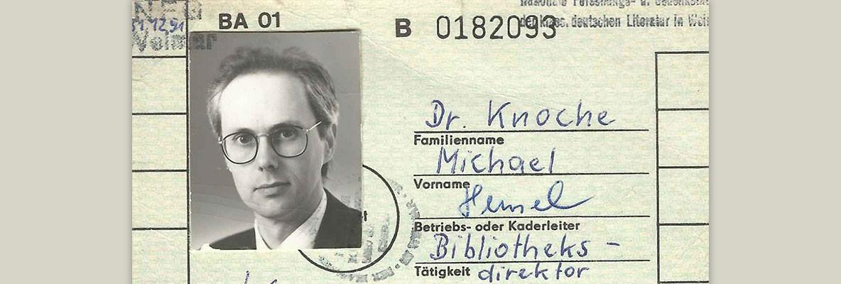 Michael Knoche · 1991