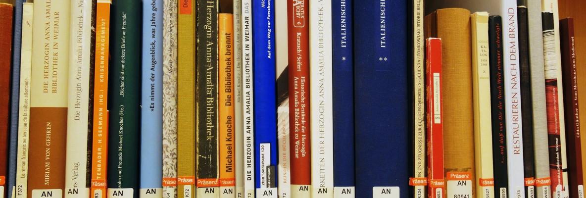 Bücherreihe »AN« in der Herzogin Anna Amalia Bibliothek