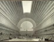 Étienne-Louis Boullée, Deuxième projet pour la Bibliothèque du Roi (1785)